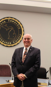 Township Supervisor Bill Rogers